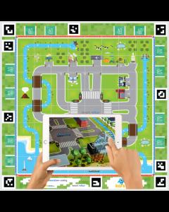 KAI'S CLAN Smart City AR/VR Adventure Mat