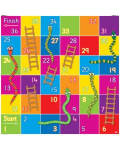 Bee-Bot Snakes and Ladders Mat. Product Code: 708-IT10130