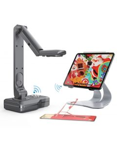 JOYUSING V500-W WIRELESS Document Camera. WIFI & HDMI & USB & VGA Connectivity