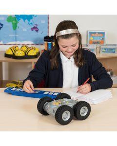 Bundle Rugged Robot and Tactile Reader