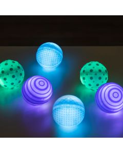 Light Up Tactile Glow Spheres. Product Code: 708-EY10974