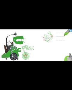 Robobloq Q-Dino Programmable Metal Robot Kit