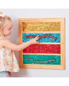 Mark Making Sequin Stripe Board. Product Code: 708-EY11006