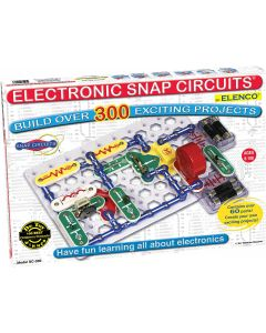 Kidder Elenco Snap Circuits Classic SC-300 Electronics Exploration Kit