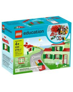 LEGO Education Doors, Windows, and Roof Tiles Set. Product Code: 732222