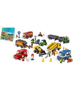 LEGO Education Vehicles Set - Trucks, Motorcycles, and Cars. Product Code: 732224