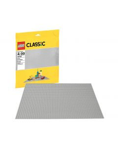 LEGO Education Classic Gray Baseplate. Product Code: 77957