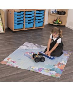 Rugged Robot Coral Reef Mat. Product Code: IT10240