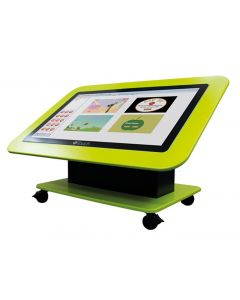 "Genee 42"" Tilt & Touch Table on Windows 10 Pro & Stand with Lockable Castors. Product Code: TTA010020"