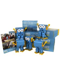 Code Club - The bundle of 5 Marty the Robot V2s and STEM Accessories