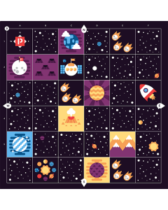 Cubetto Educational Deep Space Adventure Map