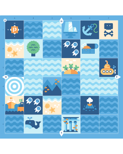Cubetto Educational Blue Ocean Adventure Pack
