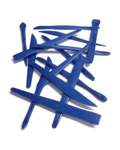 TTS Group UK Plastic Clay Modelling Tools 12pk, Product Code: A-MTOOL
