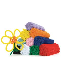 TTS Group UK Assorted Mini Chenille Pipe Cleaners 1000pk, Product Code: FPCAS