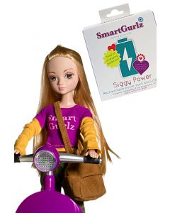 Siggy Battery Pack and Bundle JEN STEM Doll from Smartgurlz