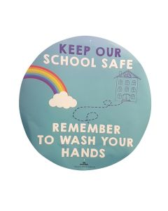 TTS Group UK Hand Hygiene Wall Stickers 5pk, Product Code: PS10107