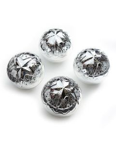 Shiny Silver Sensory Ball Toys for Infants