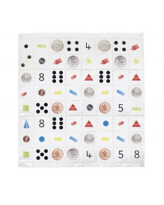 Bee-Bot Pocket Mat Size 8 x 8. Product Code: 708-IT10127