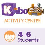 KIBO Activity Center, screen-free robot kit for 4-6 kids. 4-7 years old. 18 Blocks Kit (advance level)