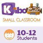 KIBO Small Classroom Pack, screen-free robot kit for 10-12 kids. 4-7 years old. 18 Blocks Kit (advance level)